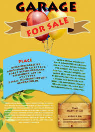 Yard Sale Flyer Template Template Business