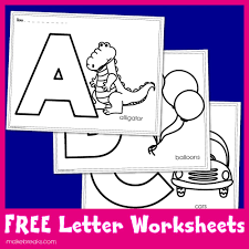 These free printable letter s coloring pages online don't just add to your kid's creativity. Free Letters To Color Worksheets For Teachers Make Breaks