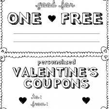 Blank Coupons Templates Black And White Coupon Template Corner Of