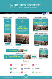 Real Estate Ad Real Estate Rented Property Ad Animated Banner