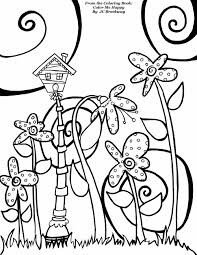 Free Birdhouse Coloring Page From Adult