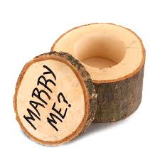 details about vintage wooden printed chic rustic wedding ring bearer box custom ring box diy