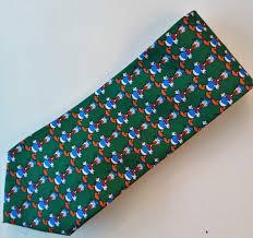 italian silk tie designer clothing disney donald duck from tie rack novelty 100 silk tie for by blissfullvine on etsy
