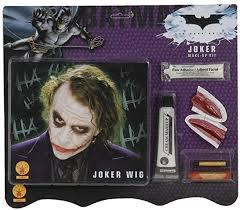 joker wig makeup kit