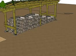 Construction Abri Pour Bois De Chauffage