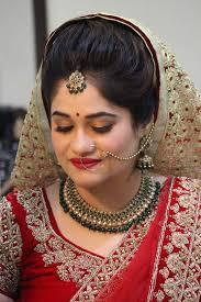 north indian wedding makeup pune