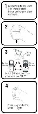 chamberlain universal remote instructions er garage opener garage door er