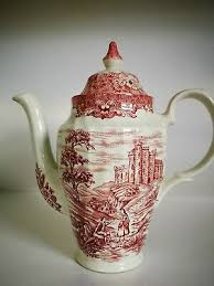 Comprises of coffee pot, cream jug, sugar bowl and 6 cups and saucers. Olde Country Castles 1 5 Dealsan