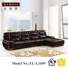 sofa designs. New Style Modern Corner Leather Sofa Designs Drawing Room Set,seccional De Cuero