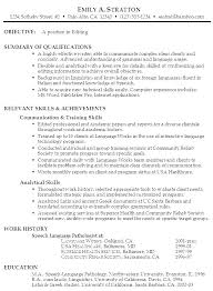 Achievements For Resume Examples Objective For Resumes