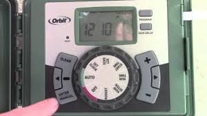 Small Picture How to install and Program an Orbit Easy Set Sprinkler Timer YouTube