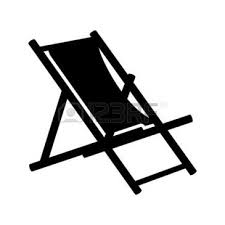 Back Of Beach Chair Silhouette penaime