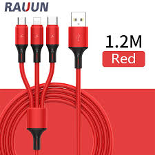 【Ready Stock】 <b>New 3</b>-in-<b>1 Liquid Silicone</b> Data Cable Charging ...