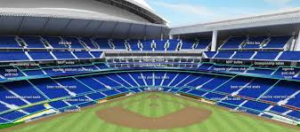Marlins Stadium Seating Chart Marlins Park Miami Fl Baseball Park Miami Marlins Baseball