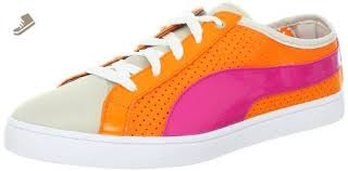 PUMA Women's Kai Lo <b>Perforated</b> Shoe,<b>Orange</b> Popsicle,9 B US ...