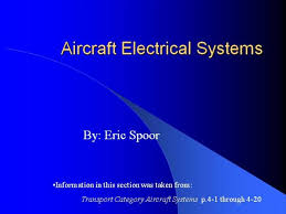 aircraft electrical systems authorstream rh authorstream com ship electrical systems aircraft electrical wiring