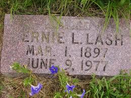 Bernie L Lash (1897-1977) - Find A Grave Memorial