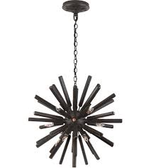 visual comfort chc3111ai e f chapman lawrence 20 light 20 inch aged iron sputnik chandelier ceiling light