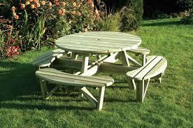 elite round table bench seat
