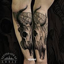 значение татуировки быка фото и эскизы тату бык Rustattooru