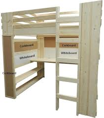 Used Loft Beds With Desk Custom Bed Underneath Canada