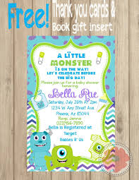 Monster Inc Baby Shower Decorations Monsters Inc Baby Shower Invitations Hollowwoodmusiccom