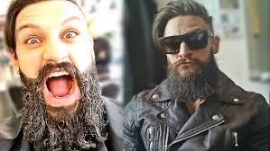 Beard And Hair Style man bun meets viking beard how to grow hair & beard styling 7871 by stevesalt.us
