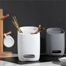 silverware organizer caddy flatware storage kitchen countertop dining table