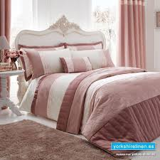 catherine lansfield gatsby pink duvet cover set from yorkshire linen mijas costa marbella