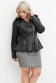 leather jackets plus size 5 plus size christmas outfits with leather jacket that you will love