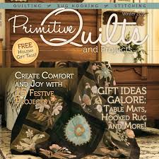 Magazine's & Primitive Quilts and Projects Magazine Winter 2016 Adamdwight.com
