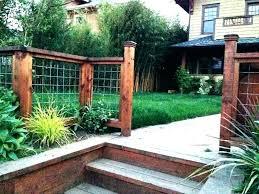 Backyard Fence Designs Amazing Small Fence Ideas Sweatingrelief