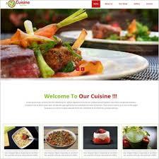 Restaurant Website Templates Mesmerizing Restaurant Website Template With Menu Free Website Templates In Css