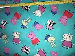 Peppa Pig Nick Jr 100% Cotton Quilting Fabric Priced per Yard | eBay & Image is loading Peppa-Pig-Nick-Jr-100-Cotton-Quilting-Fabric- Adamdwight.com