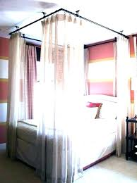 sheer curtains for canopy bed – ambientescreativos.co
