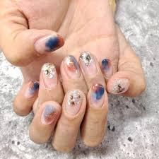 塗りかけサマーネイル 横浜のネイルサロンアイネイルズ横浜店