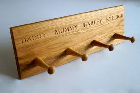 Name Coat Rack Personalised Coat Hooks MakeMeSomethingSpecial 17