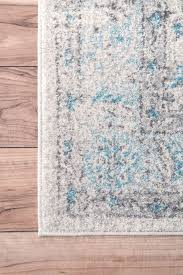 lark manor navarrete ivory cream blue area rug reviews wayfair pertaining to and ideas 6