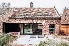 view in gallery old house on a farm renovated in belbium to embrace a more modern lifle