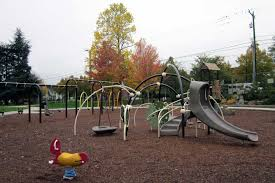 Maple Leaf Reservoir Park play area - Playground Equipment