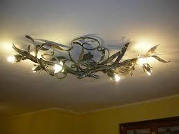 wrought iron ceiling light fixtures