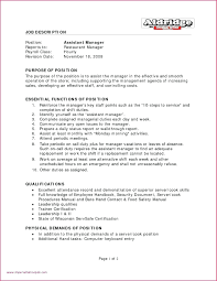 Resume Operations Manager Resume Examples