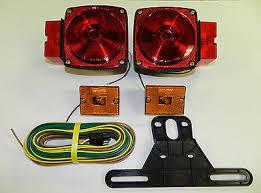 georgie boy landau 1999 2000 2001 2002 headlights turn signal 1 trailer light kit utility rv 12v wiring stop turn tail side marker optronics
