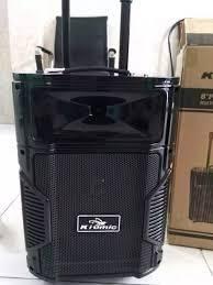 ⭐Loa Kéo Karaoke Bluetooth Kiomic K108 cực hay có tặng kèm micro không dây:  Mua bán trực tuyến Loa không dây & loa Bluetooth với giá rẻ