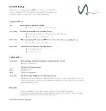 Various Resume Formats Resume Letter Collection