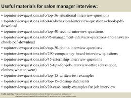 12 useful materials for salon manager salon manager description