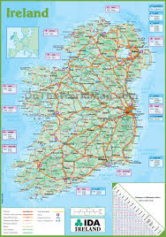 ireland maps  maps of republic of ireland