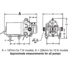 shurflo trail king 12v pressure pump how to install shurflo water pump at Shurflo Pump Wiring Diagram