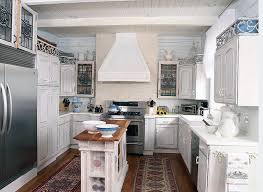 Small Kitchen With Island Kitchen Small Kitchen Island With Interiors Transitional Brown