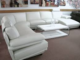 fetching white leather sectional with natuzzi plaza sectional home decor 2 poundex faux modern sofa to apply for decor